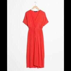 New! Knotted Midi Dress